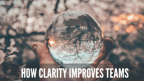 How clarity improves teams blog banner Team Building San Diego