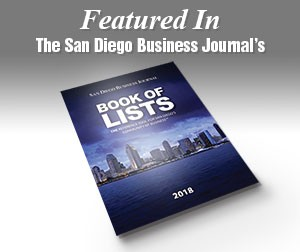 San Diego Business Journal Book of Listsl 2018