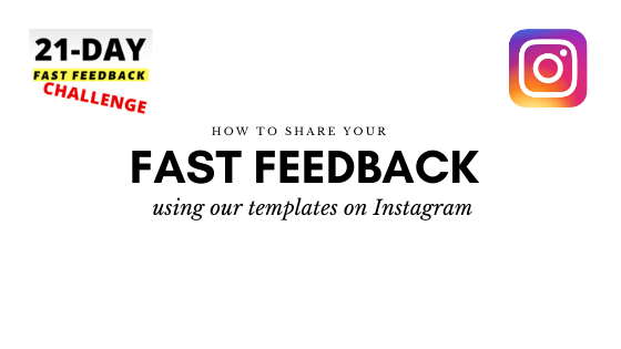 How to Share Your 21-Day Feedback on Instagram